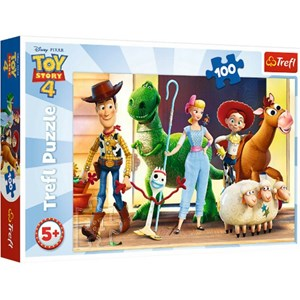 """Trefl (16356) - """"Toy Story 4"""" - 100 Teile Puzzle"""