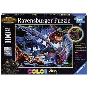 "Ravensburger (13710) - ""Dragon"" - 100 Teile Puzzle"