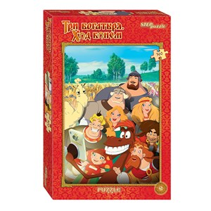 """Step Puzzle (96038) - """"Knight's Move"""" - 360 Teile Puzzle"""