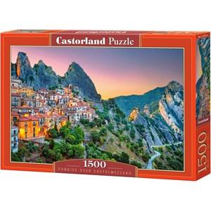 "Castorland (151912) - ""Sunrise over Castelmezzano"" - 1500 Teile Puzzle"