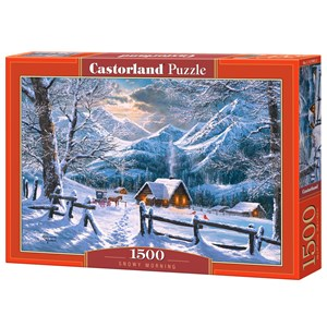 "Castorland (C-151905) - ""Snowy Morning"" - 1500 Teile Puzzle"