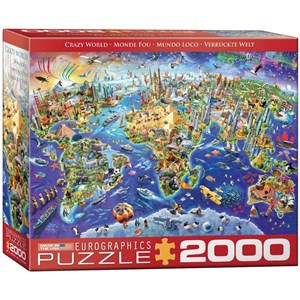 "Eurographics (8220-5343) - ""Crazy World"" - 2000 Teile Puzzle"