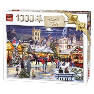 "King International (55946) - ""Winter Fair"" - 1000 Teile Puzzle"