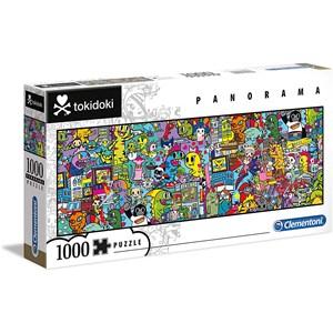 """Clementoni (39568) - """"Tokidoki"""" - 1000 Teile Puzzle"""