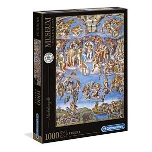 """Clementoni (39497) - Michelangelo: """"The last Judgement"""" - 1000 Teile Puzzle"""