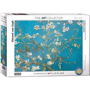 "Eurographics (6000-0153) - Vincent van Gogh: ""Blühende Mandelbaumzweige"" - 1000 Teile Puzzle"