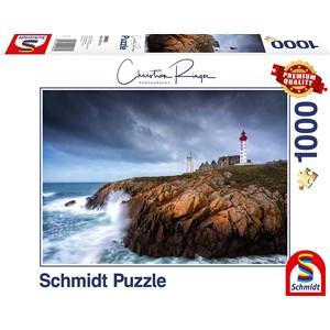 """Schmidt Spiele (59693) - Christian Ringer: """"St. Mathieu"""" - 1000 Teile Puzzle"""