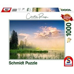 "Schmidt Spiele (59696) - Christian Ringer: ""Taubensee"" - 1000 Teile Puzzle"
