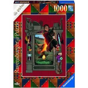 """Ravensburger (16518) - """"Harry Potter und das Trimagische Turnier"""" - 1000 Teile Puzzle"""