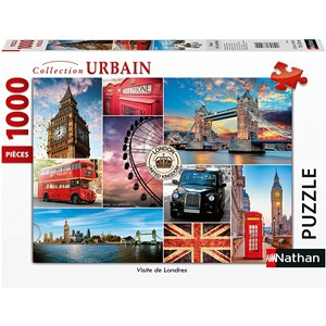 "Nathan (87632) - ""London"" - 1000 Teile Puzzle"
