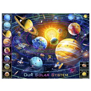 """Pintoo (h2133) - Adrian Chesterman: """"Solar System"""" - 1200 Teile Puzzle"""