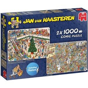 "Jumbo (20033) - Jan van Haasteren: ""Holiday Shopping"" - 1000 Teile Puzzle"