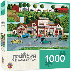 """MasterPieces (71626) - """"The Old Filling Station"""" - 1000 Teile Puzzle"""