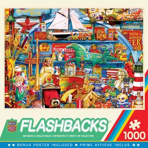 """MasterPieces (72037) - """"Antiques and Collectibles"""" - 1000 Teile Puzzle"""