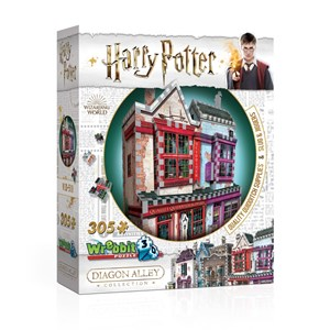 "Wrebbit (0509) - ""Harry Potter, Quality Quidditch Supplies and Slug & Jiggers"" - 305 Teile Puzzle"