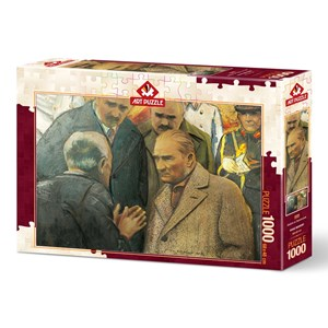 """Art Puzzle (4589) - """"Atatürk and Earthquake"""" - 1000 Teile Puzzle"""