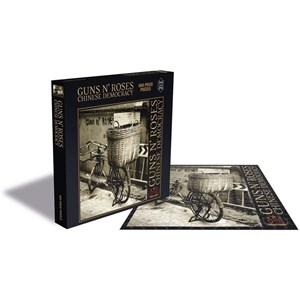 """Zee Puzzle (24967) - """"Guns N Roses, Chinese Democracy"""" - 500 Teile Puzzle"""