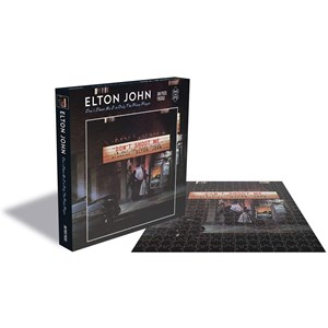 """Zee Puzzle (25151) - """"Elton John, Dont Shoot me I'm Only the Piano Player"""" - 500 Teile Puzzle"""