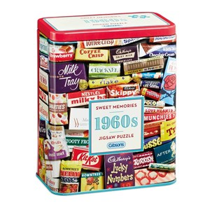 """Gibsons (G3831) - """"1960s Sweet Memories"""" - 500 Teile Puzzle"""