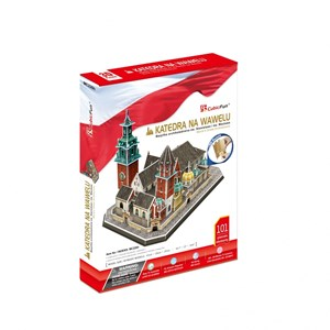 "Cubic Fun (mc226h) - ""Wawel Cathedral"" - 101 Teile Puzzle"