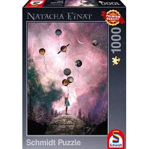 "Schmidt Spiele (59903) - Natacha Einat: ""Planet Longing"" - 1000 Teile Puzzle"