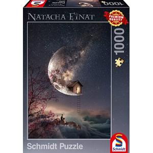 """Schmidt Spiele (59904) - Natacha Einat: """"Traumgeflüster"""" - 1000 Teile Puzzle"""