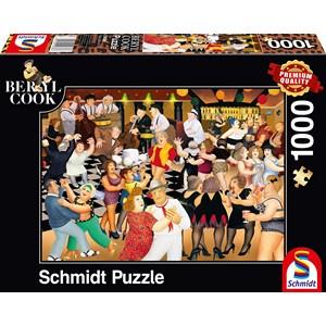 "Schmidt Spiele (59686) - Beryl Cook: ""Party Night"" - 1000 Teile Puzzle"