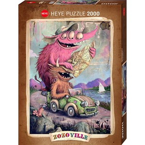 "Heye (29938) - ""Zozoville"" - 2000 Teile Puzzle"
