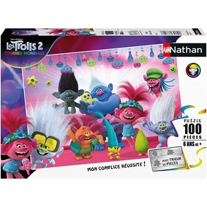 """Nathan (86770) - """"Trolls 2"""" - 100 Teile Puzzle"""