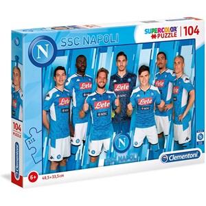 """Clementoni (27137) - """"SSC Napoli 2020"""" - 104 Teile Puzzle"""