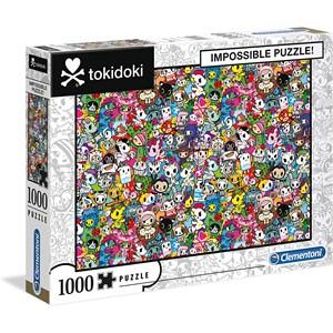 """Clementoni (39555) - """"Tokidoki"""" - 1000 Teile Puzzle"""