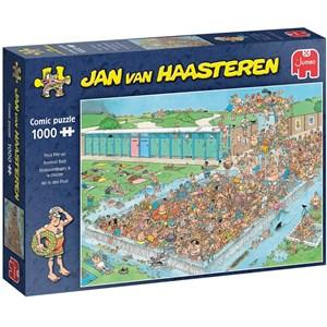"""Jumbo (20039) - Jan van Haasteren: """"Ab in den Pool"""" - 1000 Teile Puzzle"""