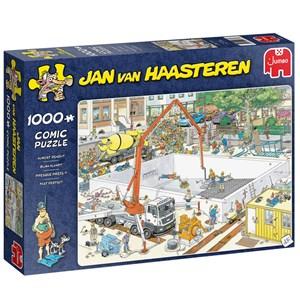 "Jumbo (20037) - Jan van Haasteren: ""Fast Fertig?"" - 1000 Teile Puzzle"