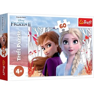 "Trefl (17333) - ""Frozen II"" - 60 Teile Puzzle"