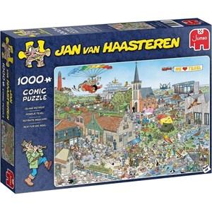 """Jumbo (20036) - Jan van Haasteren: """"Reif für die Insel"""" - 1000 Teile Puzzle"""