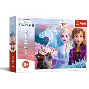 "Trefl (18253) - ""Frozen II"" - 30 Teile Puzzle"