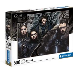 "Clementoni (35091) - ""Game of Thrones"" - 500 Teile Puzzle"