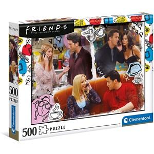 """Clementoni (35090) - """"Friends"""" - 500 Teile Puzzle"""