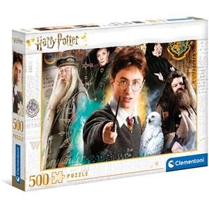 """Clementoni (35083) - """"Harry Potter"""" - 500 Teile Puzzle"""
