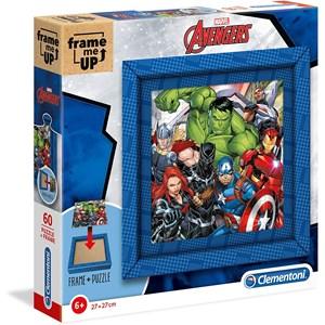 """Clementoni (38801) - """"Marvel Avengers"""" - 60 Teile Puzzle"""
