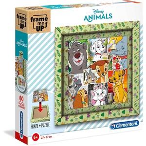 "Clementoni (38804) - ""Disney Animals"" - 60 Teile Puzzle"