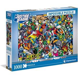 """Clementoni (39599) - """"DC Comics"""" - 1000 Teile Puzzle"""