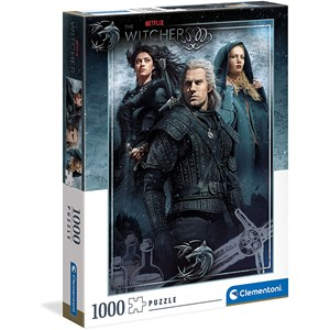 """Clementoni (39592) - """"The Witcher"""" - 1000 Teile Puzzle"""