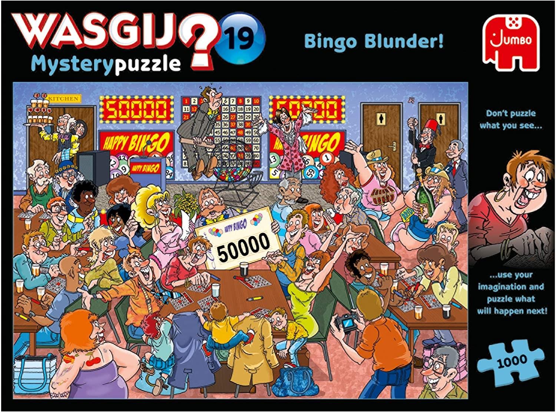 Speiselokal Jumbo Rätsel-Puzzle Sunday Lunch Essen 1000 Teile Wasgij