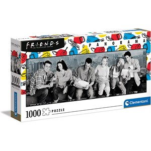 """Clementoni (39588) - """"Friends"""" - 1000 Teile Puzzle"""