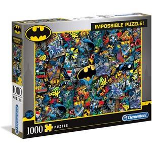 """Clementoni (39575) - """"Batman"""" - 1000 Teile Puzzle"""