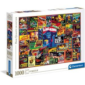 """Clementoni (39602) - """"Thriller Classics"""" - 1000 Teile Puzzle"""