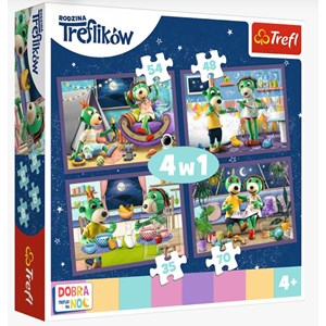 "Trefl (34370) - ""Evening Trefliks rituals, Good night"" - 35 48 54 70 Teile Puzzle"
