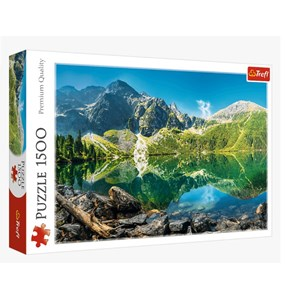 "Trefl (26167) - ""Morskie Oko Lake, Tatras, Poland"" - 1500 Teile Puzzle"
