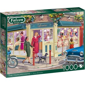 """Falcon (11323) - Victor McLindon: """"The Hairdresser"""" - 1000 Teile Puzzle"""